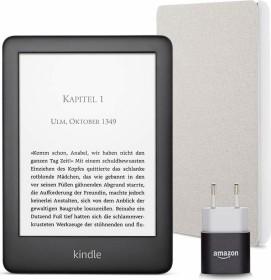 Bild Amazon Kindle J9G29R 10. Gen schwarz 4GB, mit Werbung, Essentials Bundle Grau