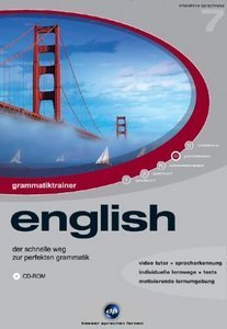 digital Publishing: interactive language tour V7: Grammar Trainer English (PC)