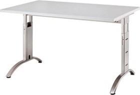 Hammerbacher Ergonomic Plus F-Serie FS12/5, grau, Schreibtisch