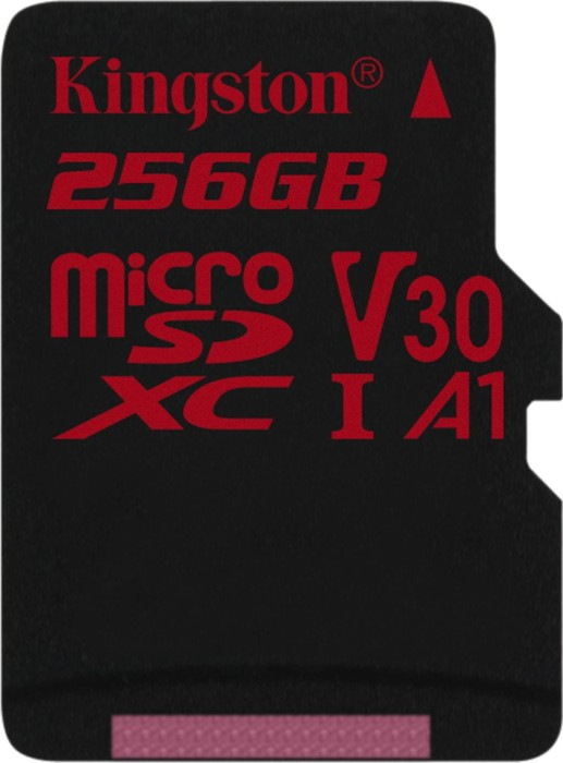 Kingston Canvas React R100/W80 microSDXC 256GB, UHS-I U3, A1, Class 10 (SDCR/256GBSP)