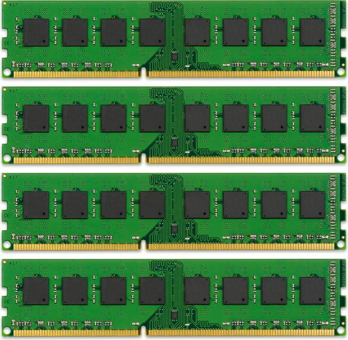 Kingston ValueRAM DIMM Kit  16GB, DDR3-1333, CL9-9-9-24 (KVR1333D3N9K4/16G)
