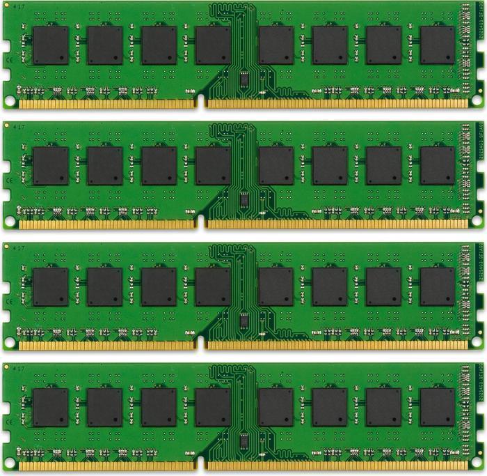 Kingston ValueRAM DIMM Kit 16GB, DDR3-1333, CL9-9-9-24 (KVR1333D3N9K4/16G)