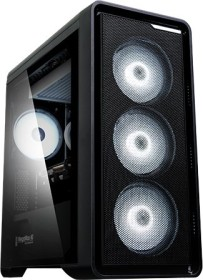 Zalman M3 Plus schwarz, Glasfenster