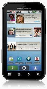 Motorola Defy black white