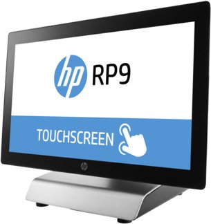 HP RP9 9015 G1 POS-System, Pentium G4400, 256GB SSD, Windows Embedded POSReady 7 64bit (V8L71EA#ABD)