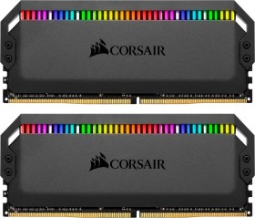 Corsair Dominator Platinum RGB DIMM kit 32GB, DDR4-3200, CL16-18-18-36 (CMT32GX4M2Z3200C16)