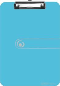 Herlitz easy orga to go Klemmbrett A4, blau transparent (11205671)