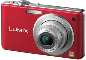 Panasonic Lumix DMC-FS6 red