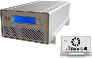 """Macpower Taurus Super-S LCM, 3.5"""", USB-A 2.0/eSATA/FireWire 400/800 (PDD-SAFBA5U2LOS) -- © bepixelung.org"""