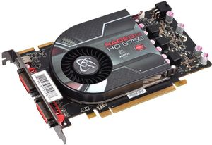 XFX Radeon HD 6750, 1GB GDDR5, 2x DVI, mini DisplayPort (HD-675X-ZNLC)