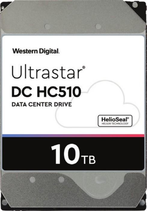 Western Digital Ultrastar DC HC510 10TB, 512e, SED, P3, SATA 6Gb/s (HUH721010ALE601/0F27453)