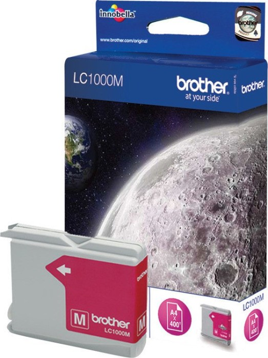 Brother LC1000M Tinte magenta