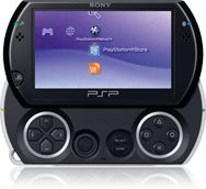 Sony Playstation portable Go!, piano black