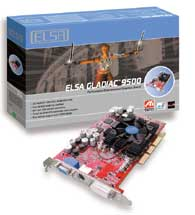 Elsa Gladiac 9500, Radeon 9500, 64MB, DVI, TV-out