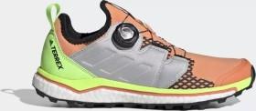 adidas Terrex Agravic Boa amber tint/grey two/signal green (Damen) (EH0198)