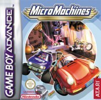 Micromachines Explosion (angielski) (GBA)