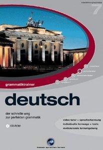 Digital Publishing Interaktive Sprachreise V7: Grammatiktrainer Deutsch (PC)