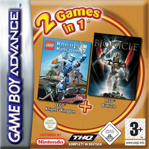 2 Games in 1 - LEGO Pack (GBA) -- via Amazon Partnerprogramm