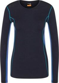 Icebreaker Merino 200 Oasis Deluxe Crewe Shirt langarm midnight navy/mystic (Damen) (104385-B03)