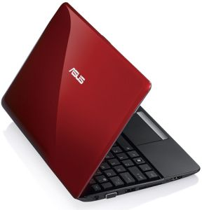 ASUS Eee PC 1015CX-RED020S red, UK