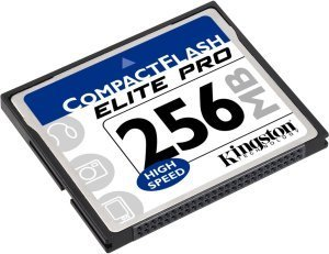 Kingston CompactFlash Card (CF) Elite Pro 50x 256MB z SLC adapter (CF/256ADP-S)