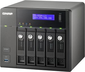 Qnap Turbo station TS-559 Pro II, 2x Gb LAN