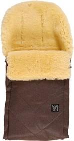 Kaiser Dublas Lammfellfußsack brown melange (65103675)