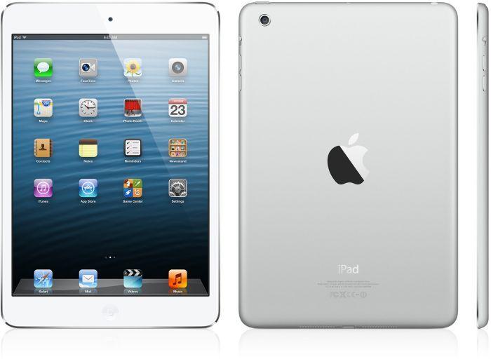 Apple iPad mini 16GB, White & Silver (MD531FD/A)