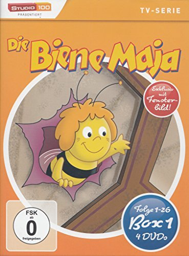 Biene Maja (4 DVDs) -- via Amazon Partnerprogramm