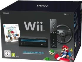 Nintendo Wii Mario Kart Pack Horizontal Bundle schwarz