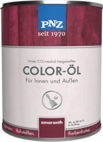 PNZ Coloröl Natur-Holzfarbe Holzschutzmittel farblos, 250ml