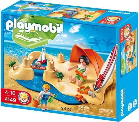 playmobil - Summer Fun - KompaktSet Strandurlaub (4149) -- via Amazon Partnerprogramm