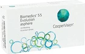 Cooper Vision Biomedics 55 evolution, -1.25 Dioptrien, 6er-Pack