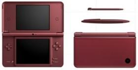 Nintendo DSi XL weinrot