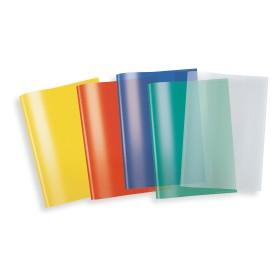 Herma Heftschoner Kunststoff transparent farbig sortiert A5, 5er-Pack (20214)