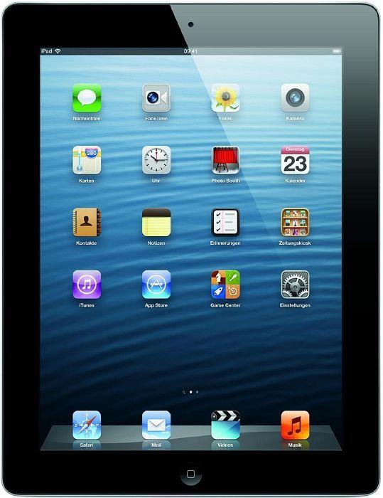 Apple iPad 4 16GB, Black - 4. Generation (MD510FD/A)