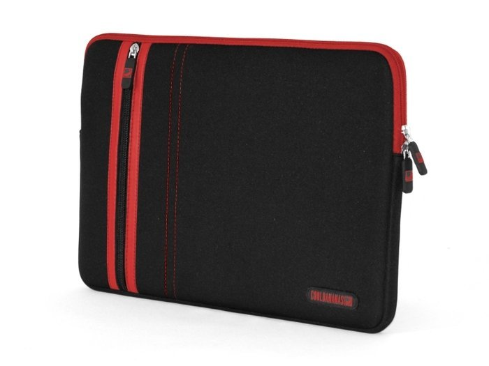 "Cool Bananas RainSuit Stripes Macbook Air 11"" Schutzhülle rot (9042495)"