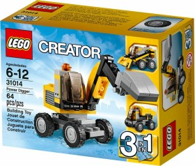 LEGO Creator 3in1 - Power Digger (31014)