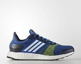 adidas Ultra Boost ST blue/footwear white/solar yellow (Herren) (BA7837)