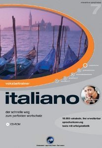 digital Publishing: interactive language tour V7: vocabulary trainer Italian (PC)