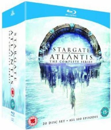 Stargate Atlantis Box (Season 1-5) (Blu-ray) (UK) -- via Amazon Partnerprogramm