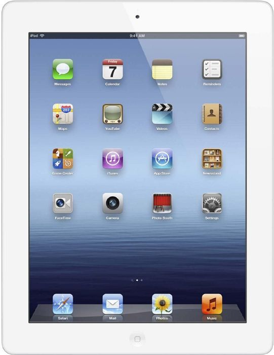 Apple iPad 4  64GB, weiß (MD515FD/A)
