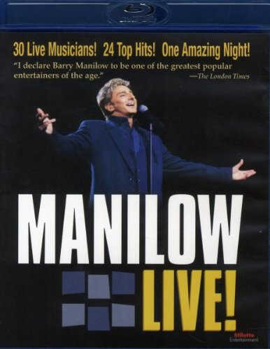Barry Manilow - Live (Blu-ray) -- via Amazon Partnerprogramm