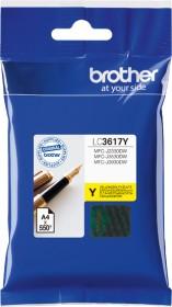 Brother Tinte LC3617Y gelb