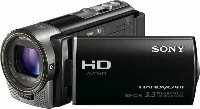 Sony HDR-CX130E black