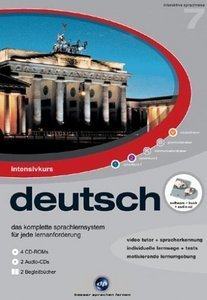 digital Publishing: interactive language tour V7: intensive course German (PC)