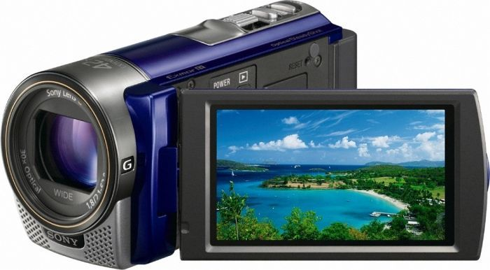 Sony HDR-CX130E blue