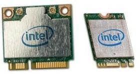 Intel DualBand Wireless-AC 3160, 2.4GHz/5GHz WLAN, Bluetooth 4.0, PCIe Mini Card (3160.HMWG)