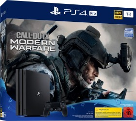 Sony PlayStation 4 Pro - 1TB Call of Duty: Modern Warfare Bundle schwarz (9324508)
