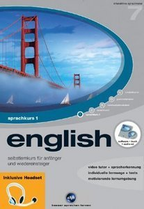 Digital Publishing: Interaktive Sprachreise V7: Englisch Teil 1 + Headset (PC)
